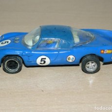 Scalextric: SCALEXTRIC MADE IN FRANCE COCHE ALPINE RENAULT REF. C13 SLOT CAR AÑOS 70. Lote 116384415