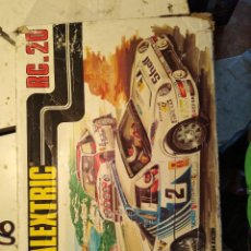 Scalextric: CIRCUITO EXIN RC 20 SCALEXTRIC CON DOS FORD RS 200 MADE SPAIN. Lote 118359107