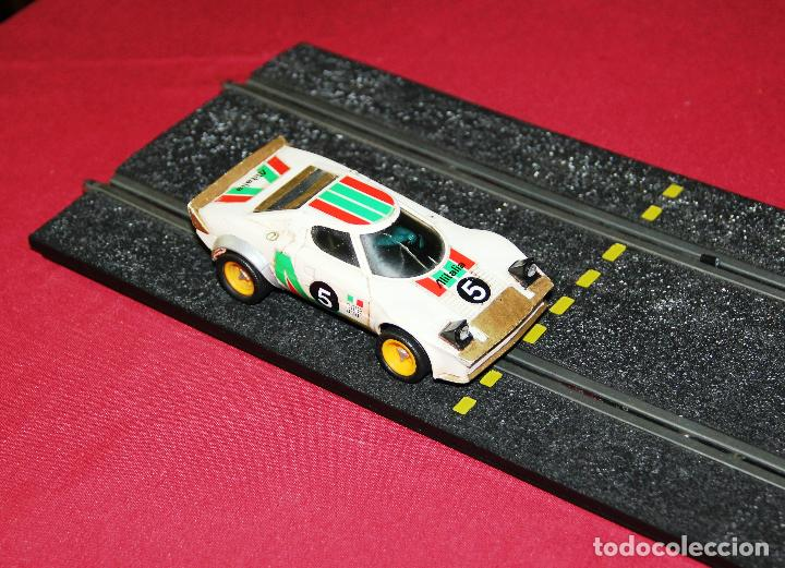 LANCIA STRATOS REF. 4055 / 4065 SCALEXTRIC EXIN (Juguetes - Slot Cars - Scalextric Exin)