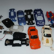 Scalextric: LOTE RESTOS DESGUACE SCALEXTRIC EXIN . Lote 118580595