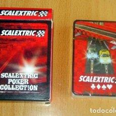 Scalextric: BARAJA POKER NUEVA PRECINTADA SCALEXTRIC. Lote 119508459