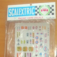 Scalextric: PEGATINAS RACING CARS DECALS. Lote 121413916