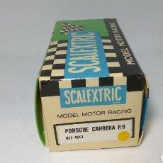 Scalextric: CAJA SCALEXTRIC EXIN PORSCHE CARRERA RS AMARILLO REF. 4051. Lote 119705247