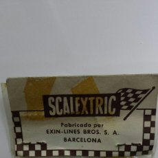 Scalextric - SLOT SCALEXTRIC EXIN BLISTER 12 TORNILLOS GUIA - 119868407