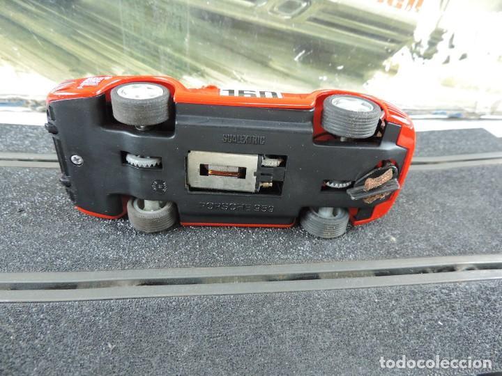Scalextric: CAJA DE SCALEXTRIC EXIN GT 21, CON LOS PORSCHE 959 ROJO Y BLANCO, (le faltan los retrovisores), LA C - Foto 8 - 120280755