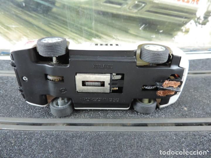 Scalextric: CAJA DE SCALEXTRIC EXIN GT 21, CON LOS PORSCHE 959 ROJO Y BLANCO, (le faltan los retrovisores), LA C - Foto 14 - 120280755