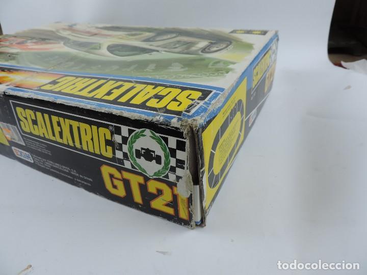 Scalextric: CAJA DE SCALEXTRIC EXIN GT 21, CON LOS PORSCHE 959 ROJO Y BLANCO, (le faltan los retrovisores), LA C - Foto 19 - 120280755