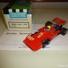 Scalextric: SCALEXTRIC. EXIN. TYRRELL P34 ROJO. REF. 4054. Lote 120706735
