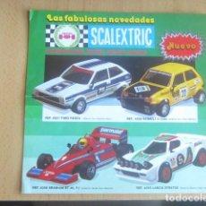 Scalextric: LAS FABULOSAS NOVEDADES SCALEXTRIC LOTE 6 A TODO COLOR CON TODAS LA NOVEDADES. Lote 120814915