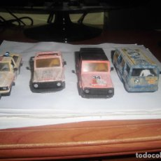 Scalextric: 4 CARROCERIAS CON MOHO DE STS SCALEXTRIC EXIN. Lote 121271087