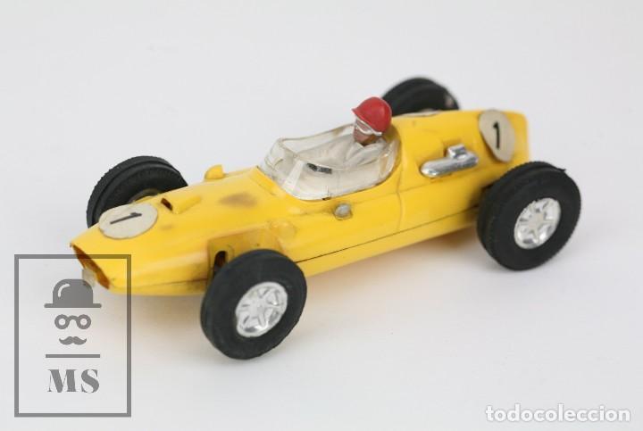 COCHE SCALEXTRIC / TRIANG - COOPER FÓRMULA 1 - AMARILLO - AÑOS 60-70 - PIEZAS O RESTAURACIÓN (Juguetes - Slot Cars - Scalextric Exin)