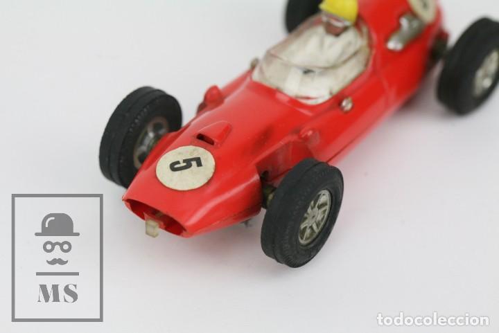 Scalextric: Coche Scalextric / Triang - Cooper Fórmula 1 - Rojo Anaranjado - Años 60-70 - Piezas o Restauración - Foto 2 - 121341255
