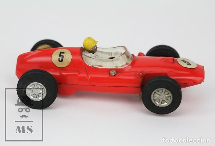 Scalextric: Coche Scalextric / Triang - Cooper Fórmula 1 - Rojo Anaranjado - Años 60-70 - Piezas o Restauración - Foto 5 - 121341255