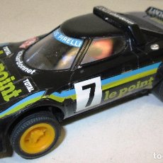 Scalextric: SCALEXTRIC EXIN LANCIA STRATOS NEGRO LE POINT REF. 4055/4065. Lote 121393846
