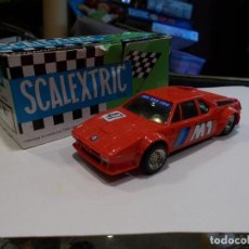 Scalextric: SCALEXTRIC EXIN COCHE BMW M1 COLOR ROJO REF 4063 CON SU CAJA ORIGINAL (SR). Lote 121417231