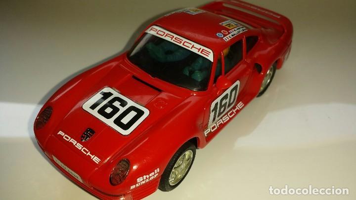 SLOT SCALEXTRIC EXIN PORSCHE 959 ROJO (Juguetes - Slot Cars - Scalextric Exin)