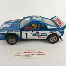 Scalextric: LANCIA RALLY 037 PIONNER SCALEXTRIC EXIN 4073. Lote 121719163