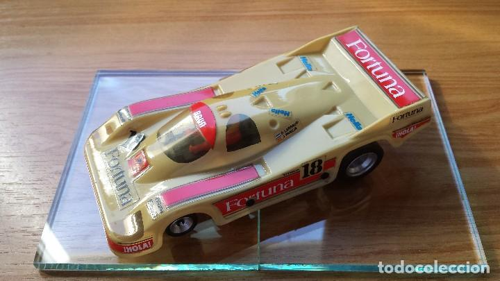 SLOT SCALEXTRIC EXIN SRS PORSCHE 956 FORTUNA (Juguetes - Slot Cars - Scalextric Exin)