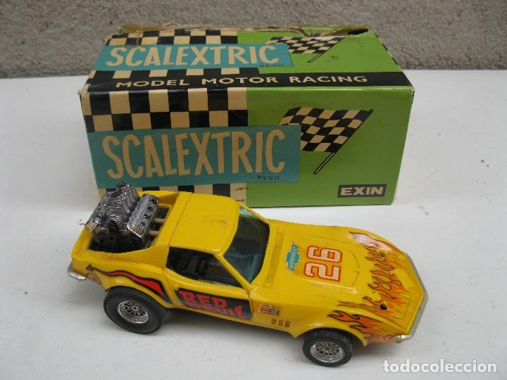 CHEVROLET CORVETTE DRAGSTER - SCALEXTRIC - EXIN - REF. 4050. (Juguetes - Slot Cars - Scalextric Exin)