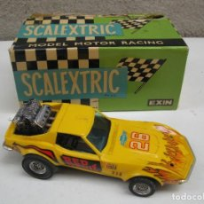 Scalextric: CHEVROLET CORVETTE DRAGSTER - SCALEXTRIC - EXIN - REF. 4050.. Lote 122694751