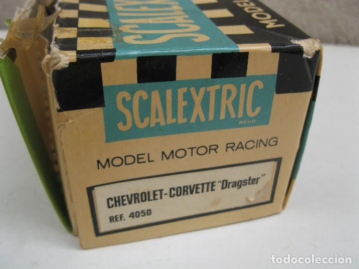 Scalextric: CHEVROLET CORVETTE DRAGSTER - SCALEXTRIC - EXIN - REF. 4050. - Foto 15 - 122694751