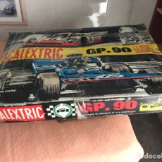 Scalextric: SCALEXTRIC GP-90 - 4 CARRILES - EXIN ESPAÑA TODO COMPLETO SIN COCHES. Lote 122926319