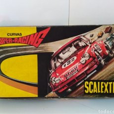 Scalextric: SCALEXTRIC PISTAS CURVAS SUPER RACING. Lote 123041388