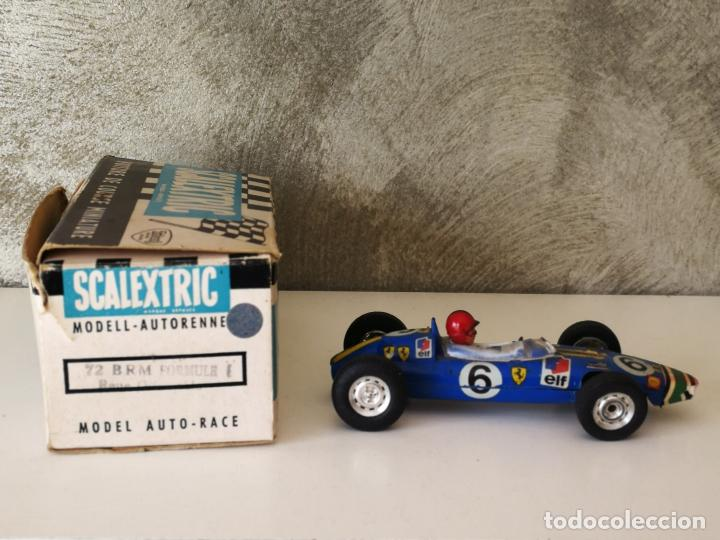 BRM C72 SCALEXTRIC TRIANG MADE IN FRANCE EN CAJA (Juguetes - Slot Cars - Scalextric Exin)