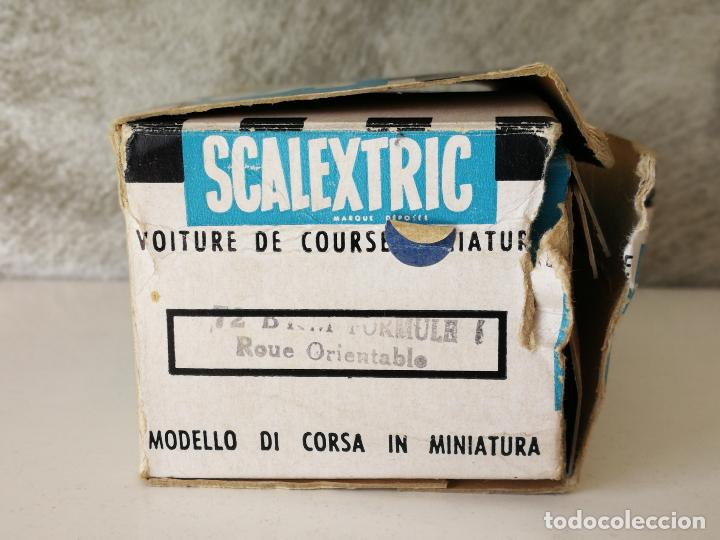 Scalextric: BRM C72 SCALEXTRIC TRIANG MADE IN FRANCE EN CAJA - Foto 13 - 123546179