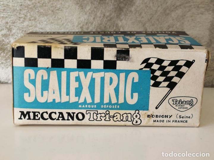 Scalextric: BRM C72 SCALEXTRIC TRIANG MADE IN FRANCE EN CAJA - Foto 14 - 123546179