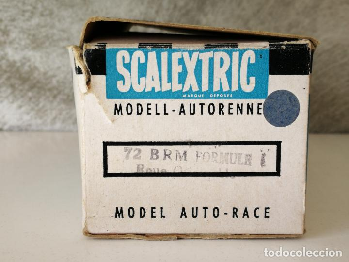 Scalextric: BRM C72 SCALEXTRIC TRIANG MADE IN FRANCE EN CAJA - Foto 15 - 123546179