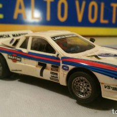 Scalextric: SCALEXTRIC LANCIA MARTINI (LANCIA RALLY 037 - REF 4073 / 74 / 76. Lote 127116899