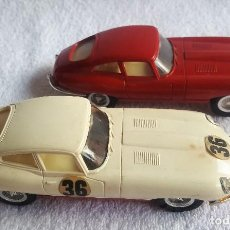 Scalextric: SCALEXTRIC EXIN DOS JAGUAR E C-34 (COCHES SIN MOTOR). Lote 128408779