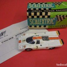 Scalextric: SCALEXTRIC EXIN. PORSCHE 917. REF. C-46. EN CAJA ORIGINAL. Lote 128548943