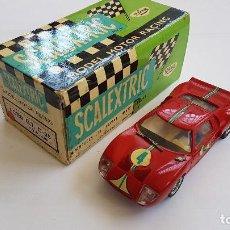 Scalextric: FORD GT C 35 ROJO SCALEXTRIC EXIN CON CAJA ORIGINAL. Lote 128830443