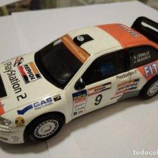 Scalextric: SCALEXTRIC ALTAYA. SEAT CORDOBA WRC. DE VITRINA. Lote 129026751