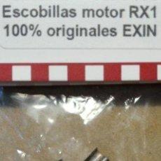 Scalextric: EXIN CARBÓN - ESCOBILLAS MOTOR RX 1 ABIERTO 5159 (2UDS.) SCALEXTRIC SCX REPROTEC. Lote 129105439