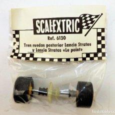Scalextric: SCALEXTRIC 6130 TREN RUEDAS POSTERIOR LANCIA STRATOS. Lote 176739340