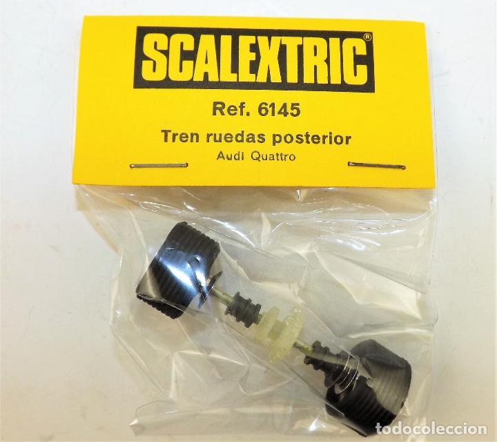 SCALEXTRIC 6145 TREN RUEDAS POSTERIOR AUDI QUATTRO (Juguetes - Slot Cars - Scalextric Exin)