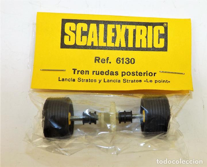 SCALEXTRIC 6130 TREN RUEDAS POSTERIOR LANCIA STRATOS (Juguetes - Slot Cars - Scalextric Exin)