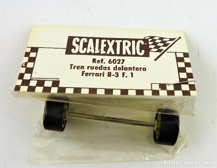 SCALEXTRIC 6027 TREN RUEDAS DELANTERO FERRARI B3 F1 (Juguetes - Slot Cars - Scalextric Exin)