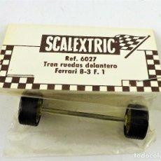 Scalextric: SCALEXTRIC 6027 TREN RUEDAS DELANTERO FERRARI B3 F1. Lote 207679440