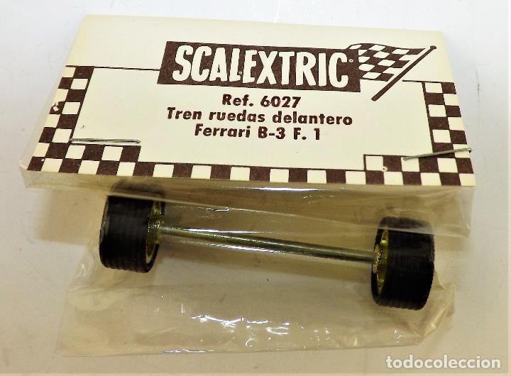 Scalextric: Scalextric 6027 Tren ruedas delantero Ferrari B3 F1 - Foto 2 - 150190689