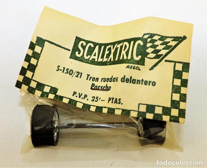 SCALEXTRIC S 150/21 TREN RUEDAS DELANTERO PORSCHE (Juguetes - Slot Cars - Scalextric Exin)