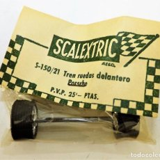 Scalextric: SCALEXTRIC S 150/21 TREN RUEDAS DELANTERO PORSCHE. Lote 207679476