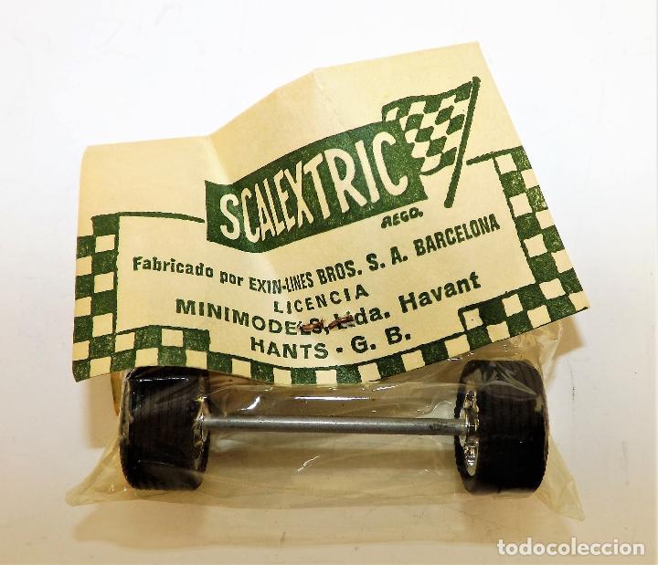 Scalextric: Scalextric S 150/21 Tren ruedas delantero Porsche - Foto 2 - 207679476