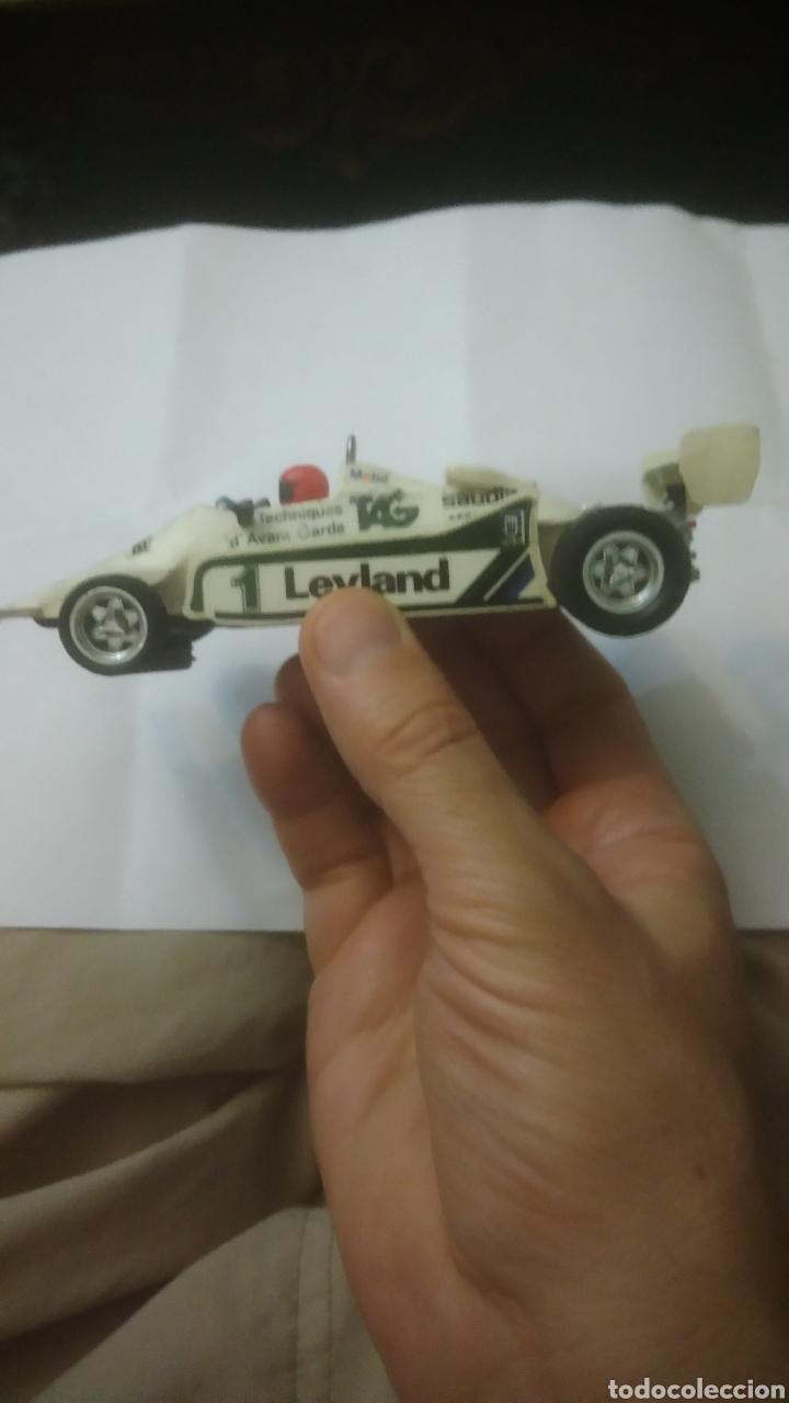 Scalextric: SCALEXTRIC. Chasis Ligier js 11. Carcasa Williams w07. Decoración 1981 de Alan Jones en Dutch Prix. - Foto 2 - 130012479