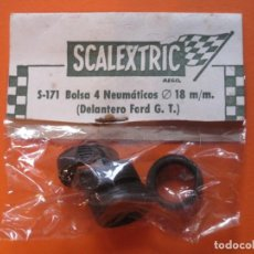 Scalextric: NEUMÁTICOS DELANTEROS FORD GT SCALEXTRIC EXIN. Lote 130993128