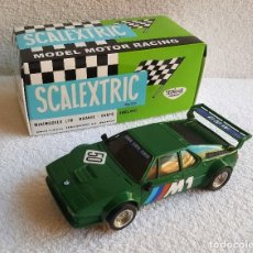 Scalextric: EXIN COCHE BMW M1 SCALEXTRIC REFERENCIA 4063 VERDE EN CAJA. Lote 131042380