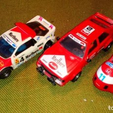 Scalextric: LOTE DE AUDI, FORD RS Y SIDECAR DE SCALEXTRIC. Lote 131127032